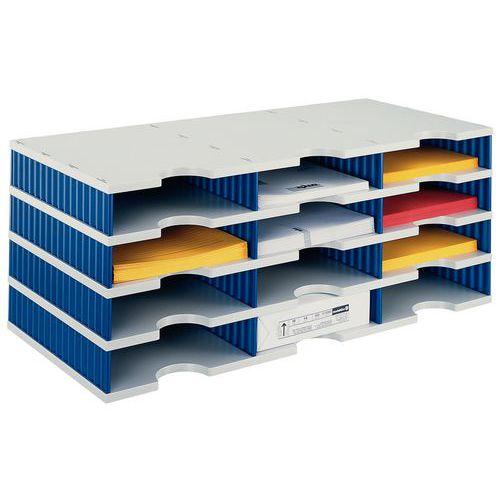 Sistema di archiviazione Styrodoc - 12 scomparti