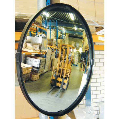 Specchio di sicurezza - Visibilità a 90° - Angolazione fino a 30° - Rotondo