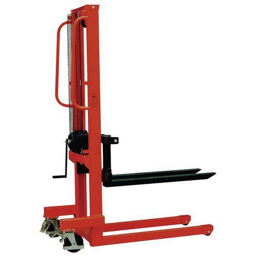 Carrello elevatore manuale - Forca lunghezza 1000 mm - Capacità 500 kg