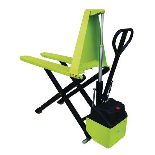 Transpallet elettrico ergonomico a grande alzata - Portata 1000 kg - Pramac