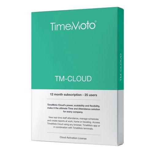 Soluzione software TimeMoto Cloud