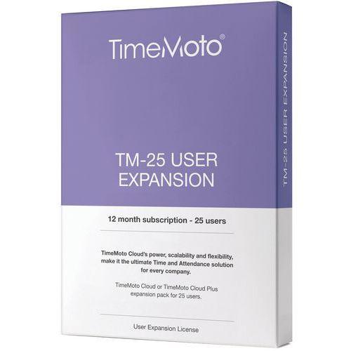 Estensione TimeMoto Cloud a 25 utenti