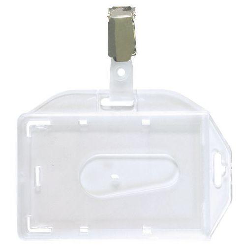 Badge di sicurezza con clip - Manutan