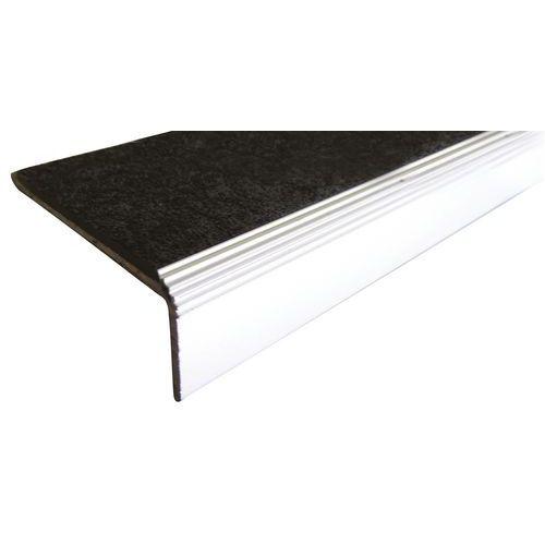 Profilo angolare da 5 in alluminio e polimero nero 1500 avvitabile