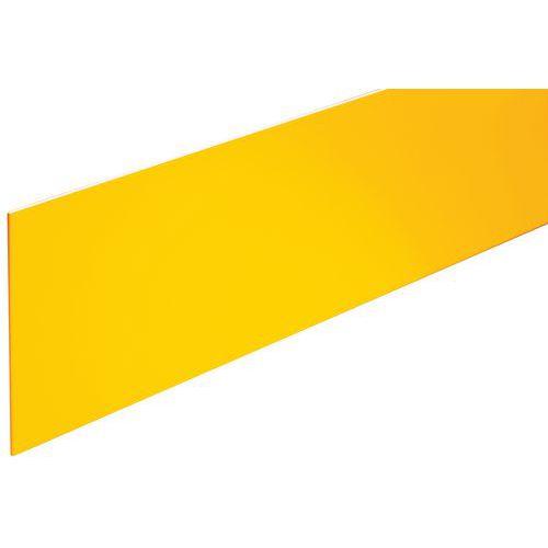 Profilo per alzata gradino in alluminio e polimero 1500 - Avvitabile