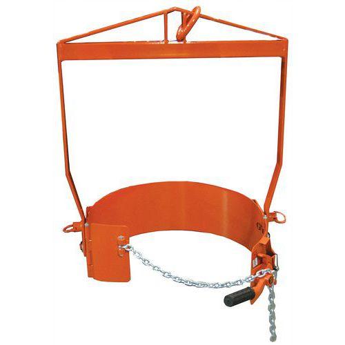Ribaltatore di fusti a leva - Portata 360 kg