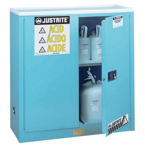 Armadio di sicurezza per prodotti corrosivi - 114 litri