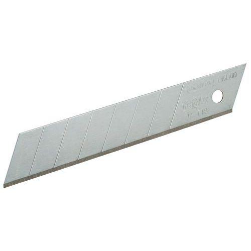 Lama per cutter - Larghezza 18 mm