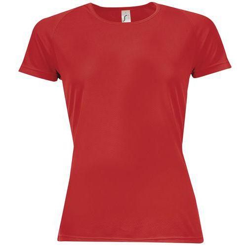 T-shirt da lavoro donna Sporty traspirante - Maniche raglan corte