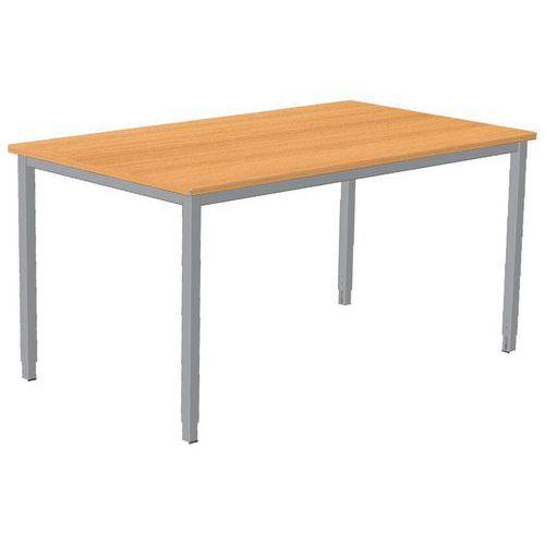 Tavolo da ufficio Combi-Classic - Base fissa - Manutan Italia