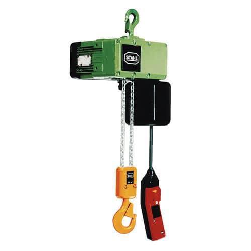 Paranco elettrico con fissaggio a gancio - Portata da 125 a 500 kg - Stahl CraneSystems