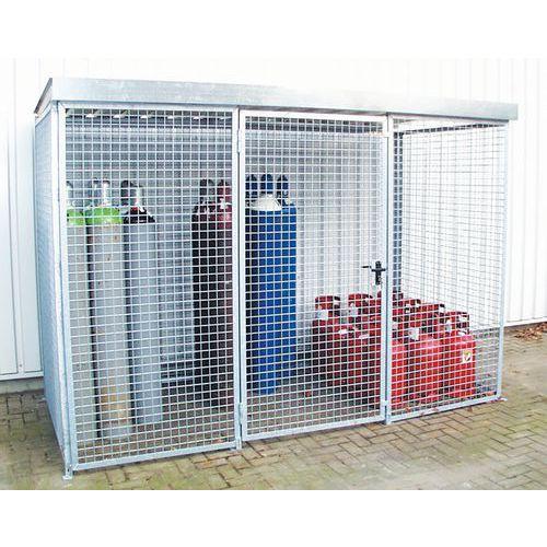 Cabina di stoccaggio per bombole di gas - 1 anta