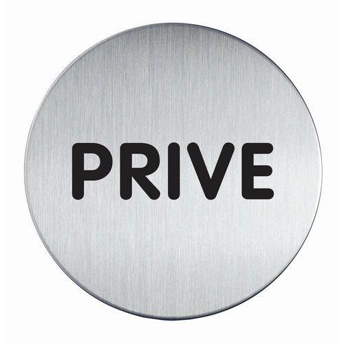 Pittogramma tondo 83 mmØ - Privato - Durable