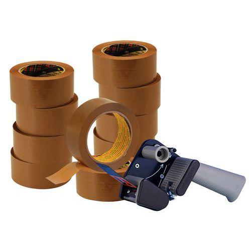 Offerta speciale 3M: 10 rotoli adesivi Hot Melt 3739 + 1 distributore silenzioso H150