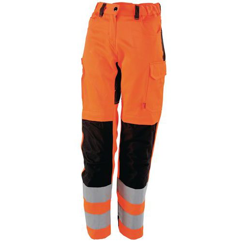 Pantaloni da lavoro donna alta visibilità Tara