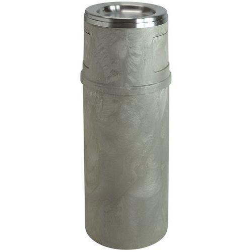 Posacenere e cestino per la carta da 56,8 litri, Rubbermaid