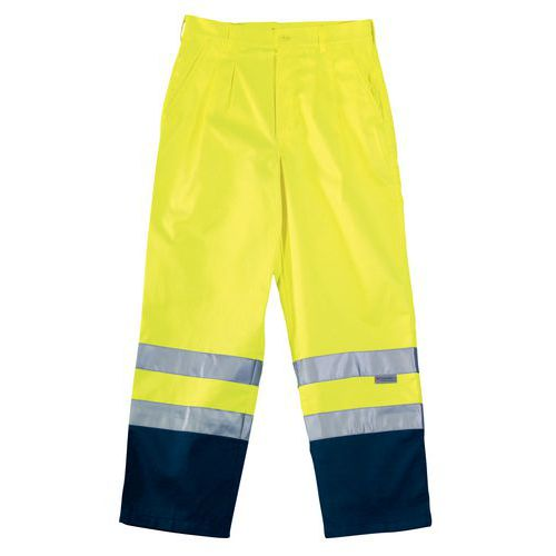 Pantaloni da lavoro ad alta visibilità