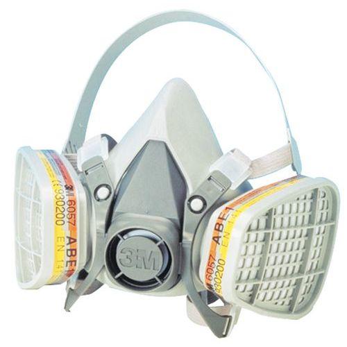 Mascherina respiratoria riutilizzabile serie 6200