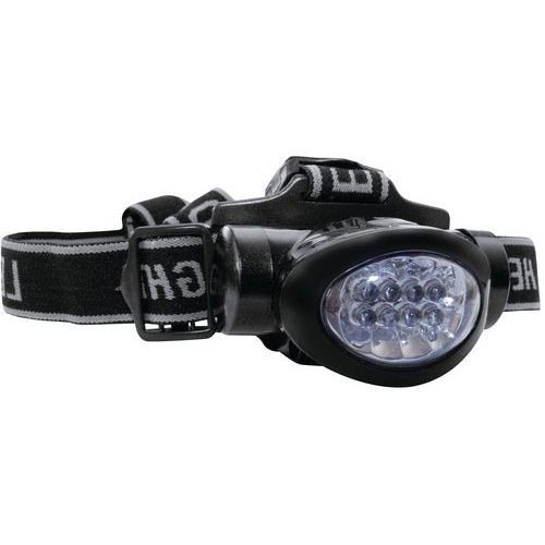 Torcia frontale massimo 8 led - Lumitorch