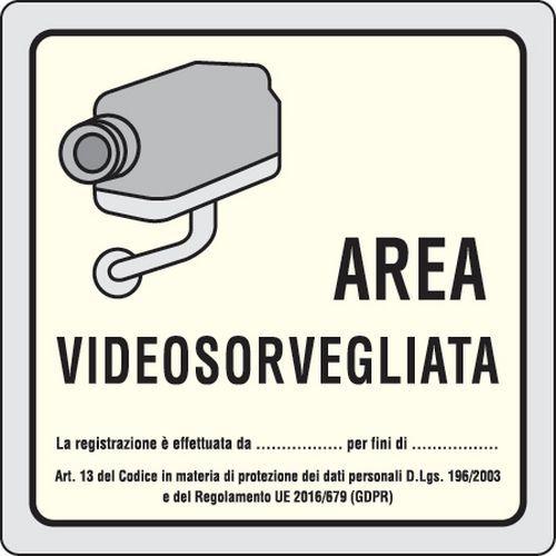 cartello videosorveglianza