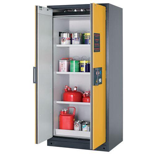 armadio di sicurezza per prodotti infiammabili - doppia