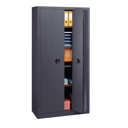 Ante A Soffietto Per Armadi.Armadio Con Ante A Libro In Kit Alto Larghezza 120 Cm
