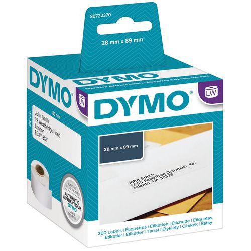 Etichette per etichettatrici Dymo LabelWriter
