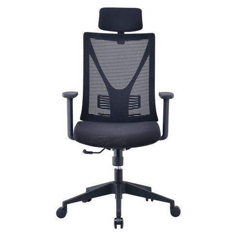 Sedia da ufficio in rete con braccioli regolabili