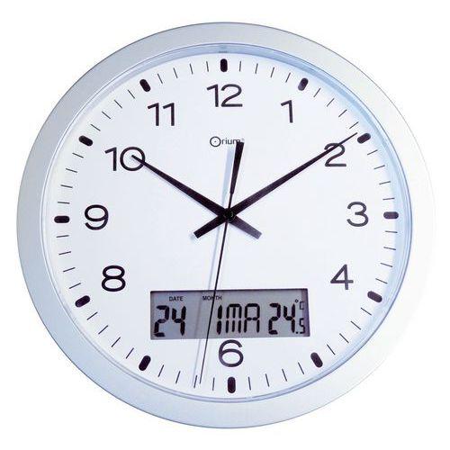 Orologio da parete al quarzo con display LCD