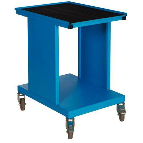 carrello con piano sv 2 ripiani manutan italia. Black Bedroom Furniture Sets. Home Design Ideas