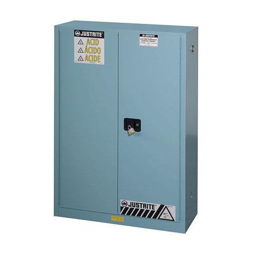 Armadio di sicurezza per prodotti corrosivi - Capacità di stoccaggio 170 litri