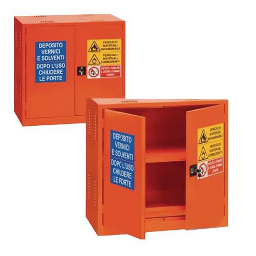 armadio di sicurezza per prodotti infiammabili e comburenti - 38 l