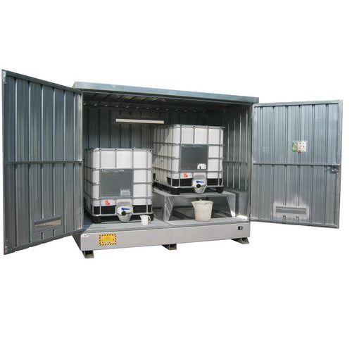 Modul container per cisternette manutan italia for Modul container haus