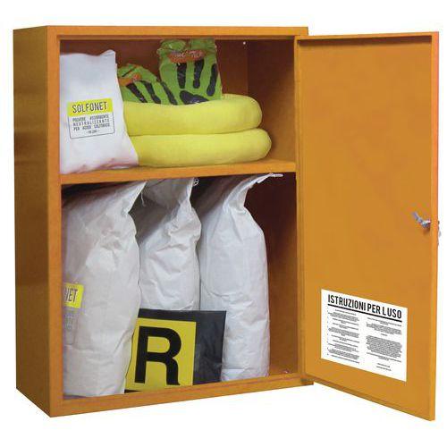 Kit di emergenza - Potere assorbente 27 L