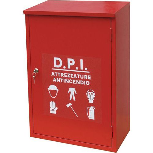 Armadietto monoblocco per dispositivi di protezione individuali