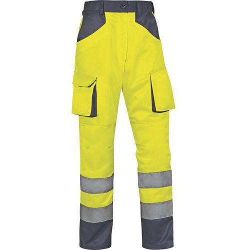Pantaloni da lavoro alta visibilità MACH2 in cotone / poliestere