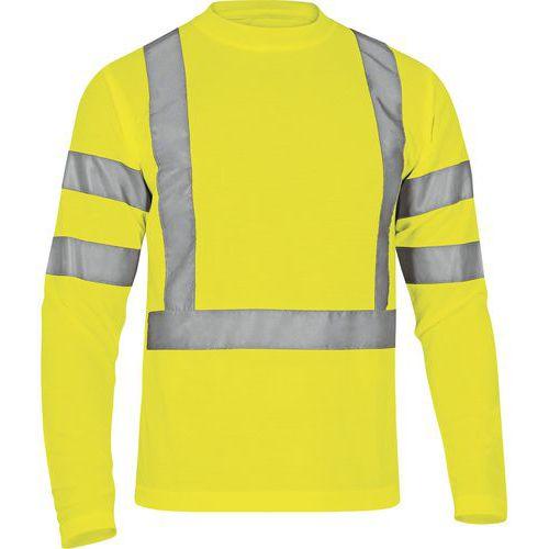 T-shirt maniche lunghe maglia pique poliestere STAR HV