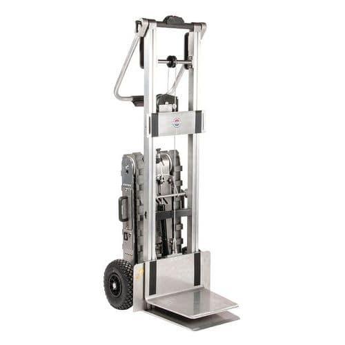 Carrello motorizzato per scale e piattaforma elevatrice - Portata 150 kg