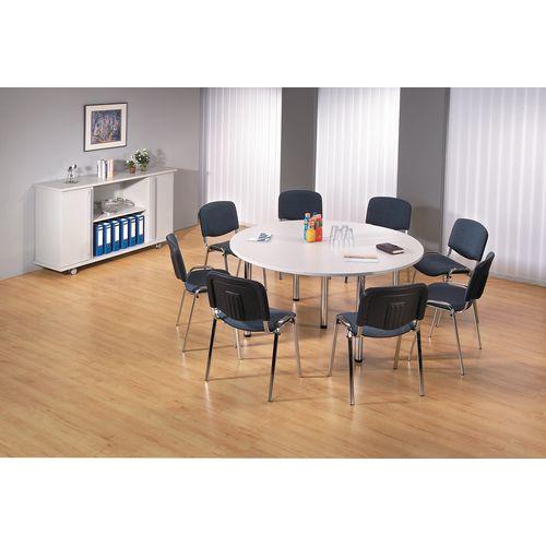 Tavolo da riunione modulare Combi-Module - Grigio - Manutan Italia