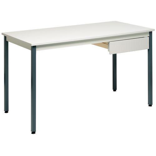 Tavolo polivalente larghezza 180 cm manutan italia - Larghezza tavolo ...