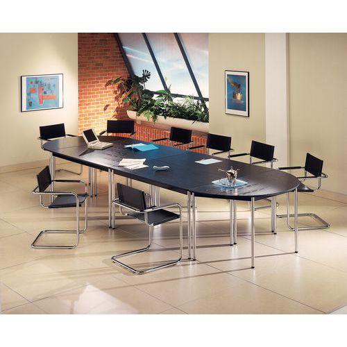 Tavolo da riunione modulare Confort - Semicircolare - Manutan Italia