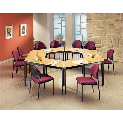 Tavolo da riunione modulare Confort - Trapezoidale - Manutan Italia
