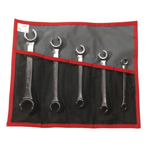 Set di chiavi metriche per tubature - Testa inclinata 15°