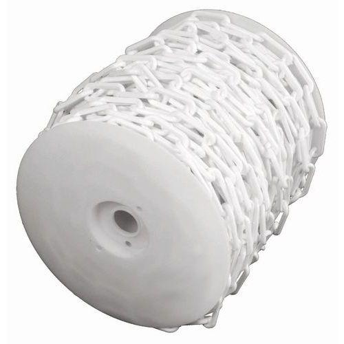 Catena in plastica in bobina - Bianco