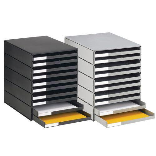 Cassettiera ecologico - 10 cassetti