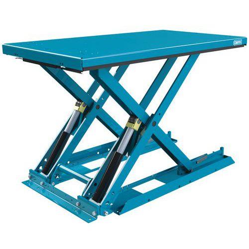 Tavola elevatrice ergonomica fissa extra-piatta MX-20 - Capacità 2000 kg