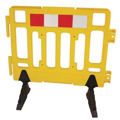 Barriera di sicurezza plastica