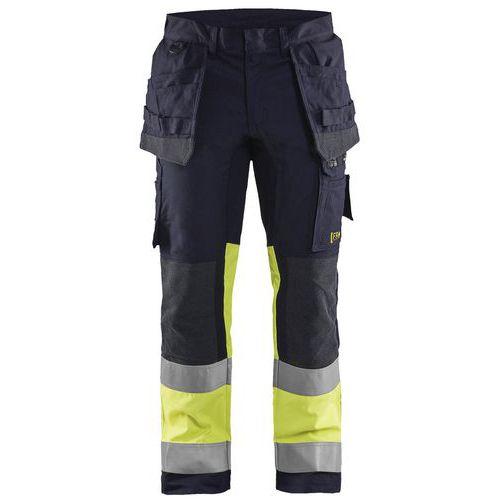 Pantaloni multinorma inerenti con stretch