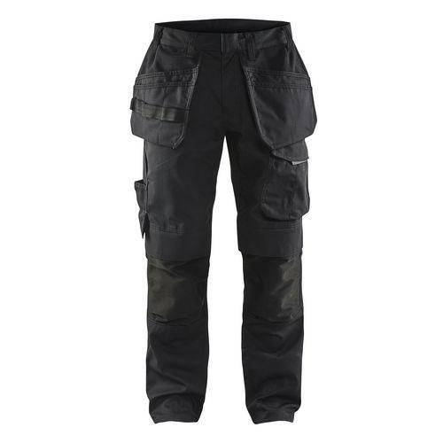 Pantaloni da lavoro Nero/rosso