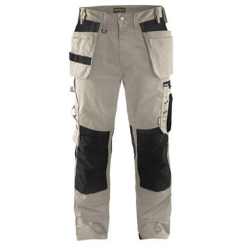 Pantaloni artigiano Pietra / Nero